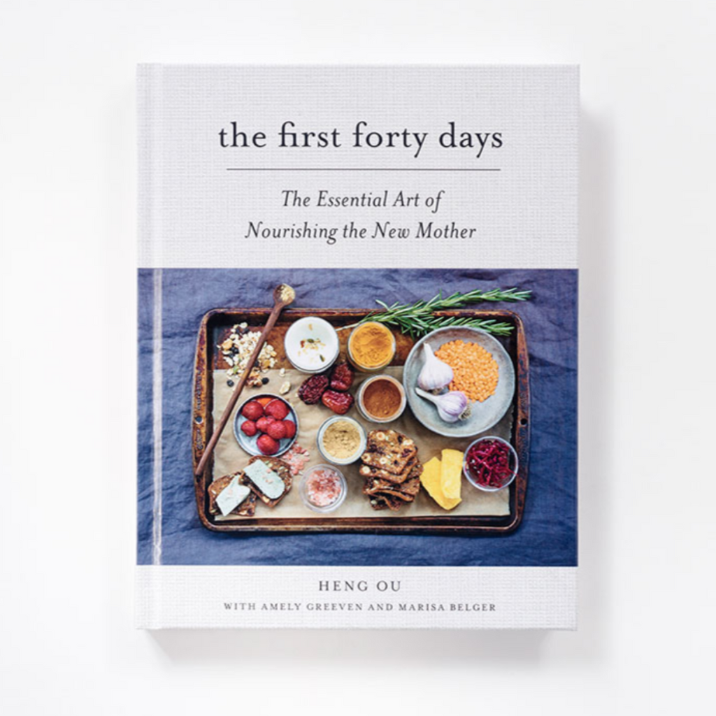 The First Forty Days: The Essential Art of Nourishing the New Mother - Hardcover - Pacifier
