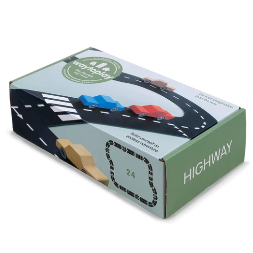 Highway - Road Set by Waytoplay Toys