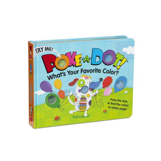 Poke-A-Dot Book - Favorite Color Melissa + Doug Books