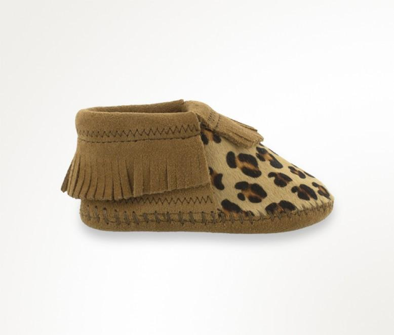 Riley Bootie - Cheetah by Minnetonka Moccasin