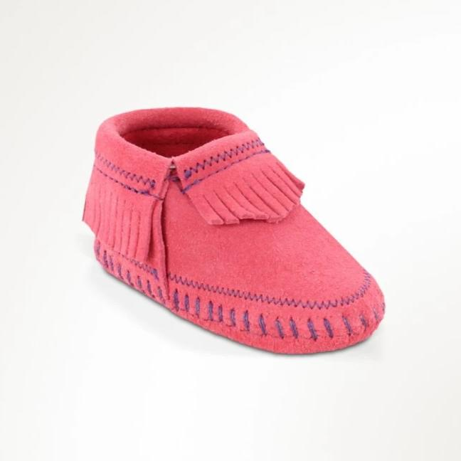 Riley Bootie - Pink by Minnetonka Moccasin Minnetonka Moccasin Co. Shoes