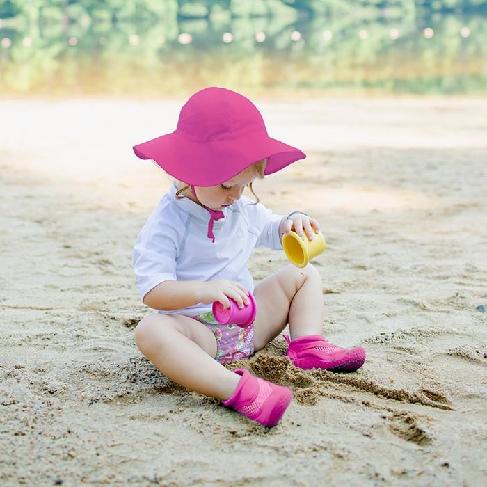 Solid Brim Sun Hat - Hot Pink by iPlay