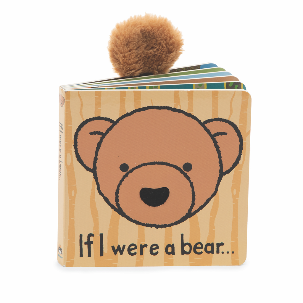 If I Were a Bear - Board Book by Jellycat Jellycat Books