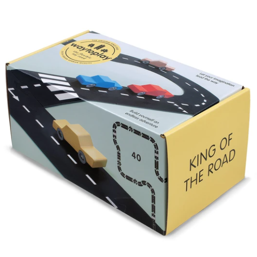 King of the Road - Road Set by Waytoplay Toys