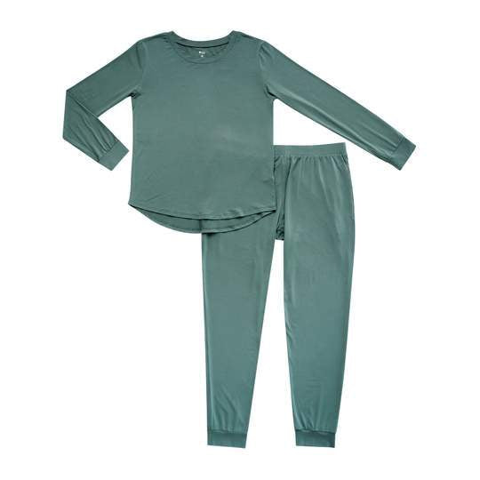 Women's Jogger Pajama Set - Pine by Kyte Baby