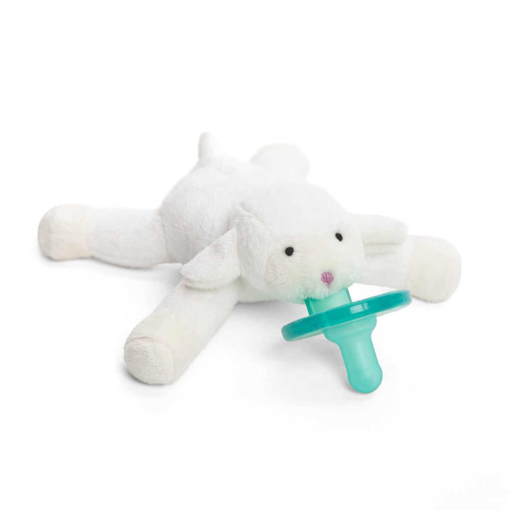 Wubbanub Animal Pacifier - Little Lamb