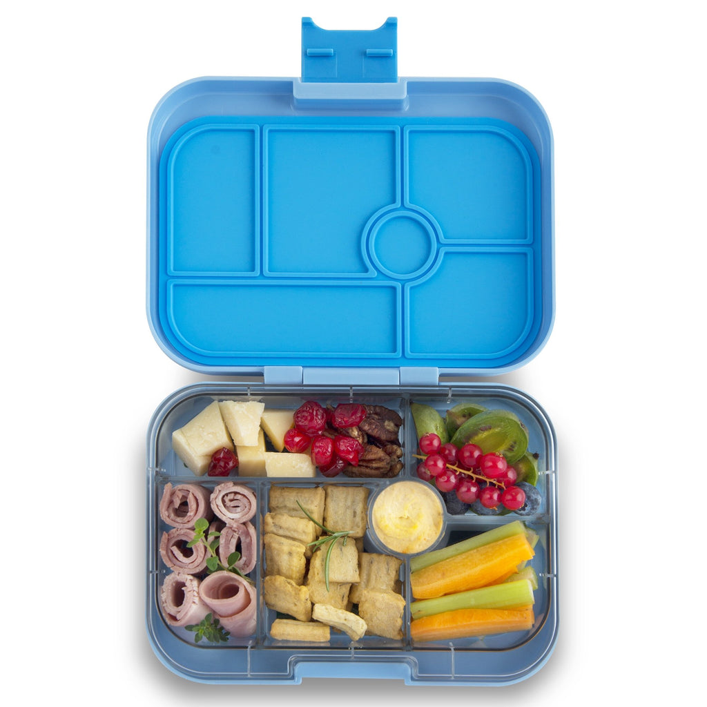 Yumbox Leakproof Bento Box - 6 Compartment - Luna Blue