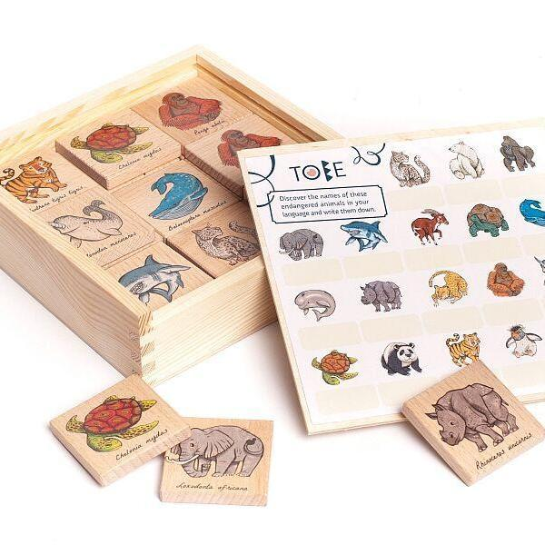 Wooden Memo Animals by Little Poland Gallery