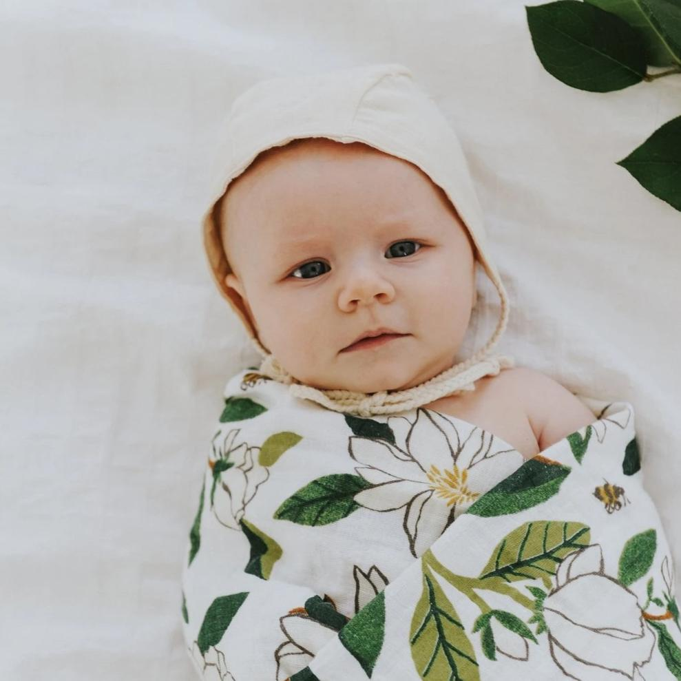 Magnolia Swaddle by Clementine Kids