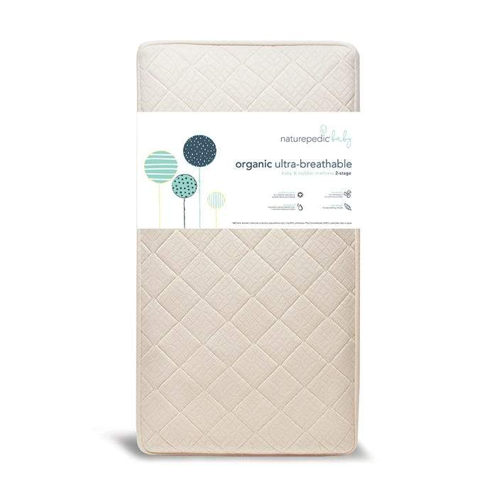 Organic Breathable Ultra 2-Stage Crib Mattress by Naturepedic