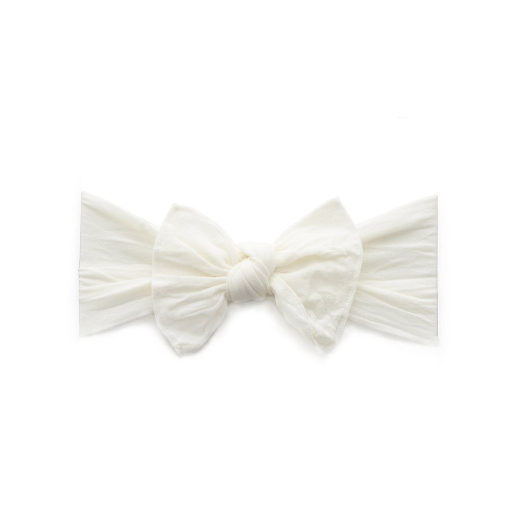 Itty Bitty Knot Headband - Ivory by Baby Bling