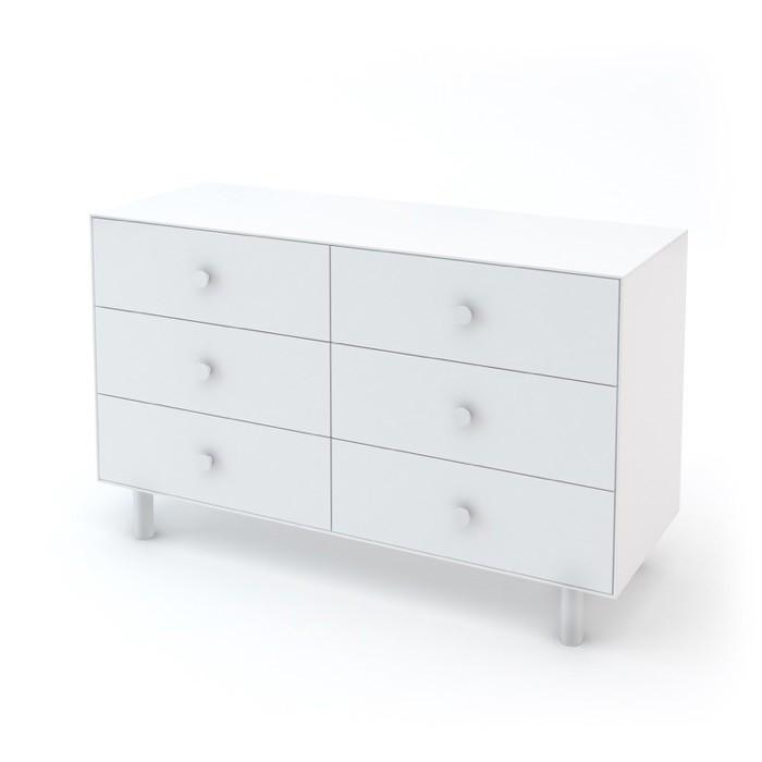 Classic 6-Drawer Dresser - White by Oeuf - Pacifier