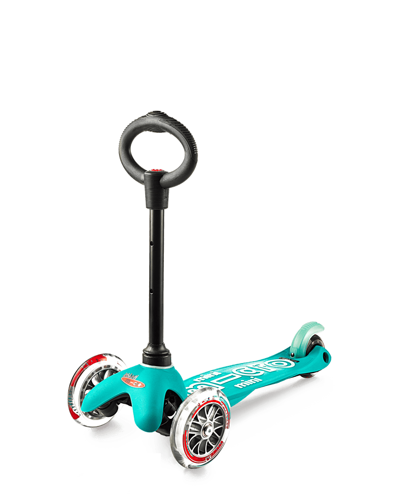 Mini Micro 3in1 Deluxe Scooter - Aqua By Micro Kickboard