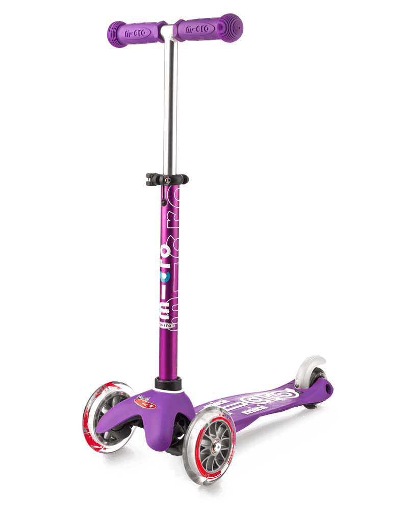 Mini Micro 3in1 Deluxe Scooter - Purple By Micro Kickboard