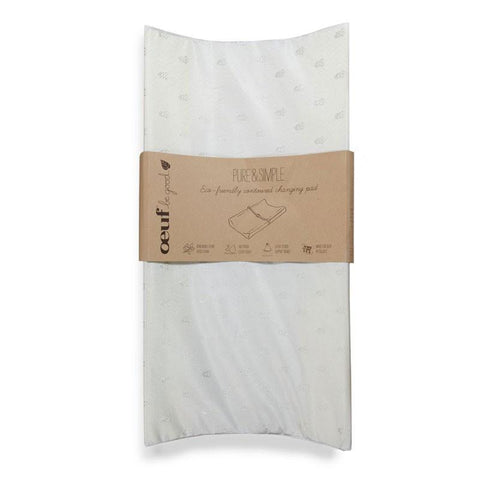 Oeuf Pure + Simple Eco-Friendly Contoured Changing Pad