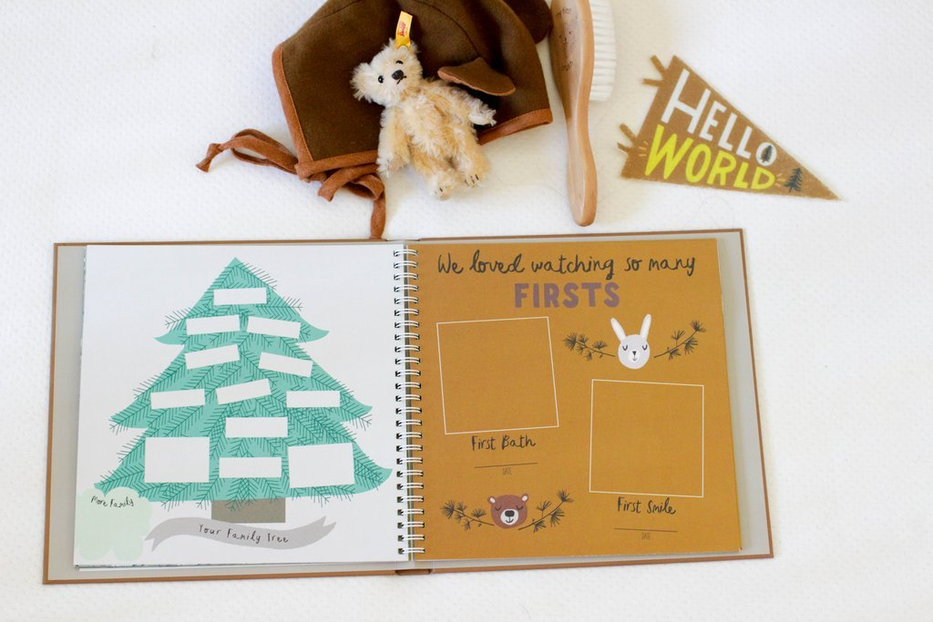 Little Camper Memory Book by Lucy Darling