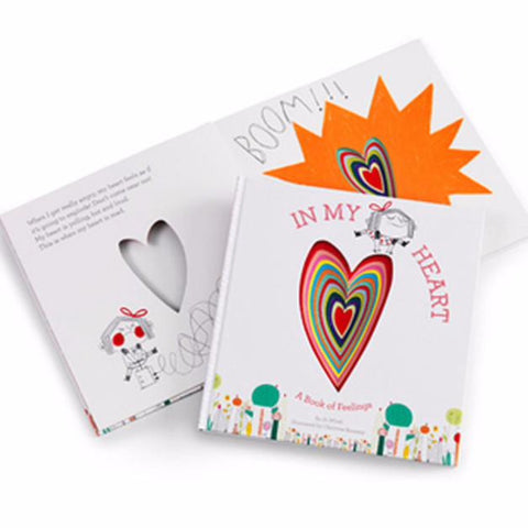 In My Heart: Book Of Feelings - Hardcover - Pacifier