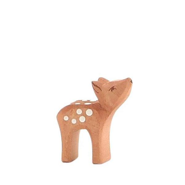 Deer Small Head High by Ostheimer Wooden Toys