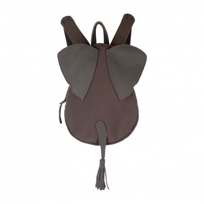 Perr Leather Backpack - Elephant by Boumy Boumy Accessories