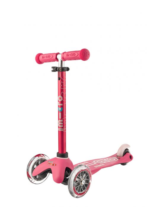 Mini Micro 3in1 Deluxe Scooter - Pink By Micro Kickboard