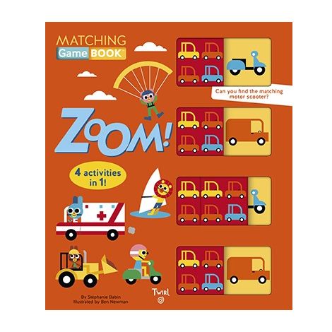 Matching Game Book - Zoom! Chronicle Books Books