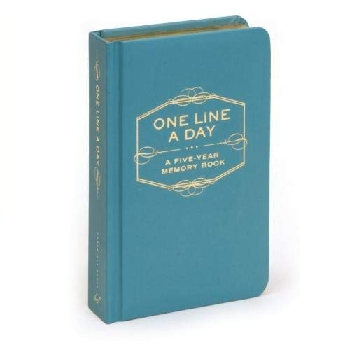 One Line A Day - Hardcover Chronicle Books Books