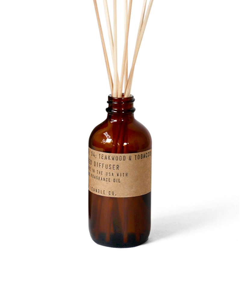 Tobacco + Teak Reed Diffuser by PF Candle Co