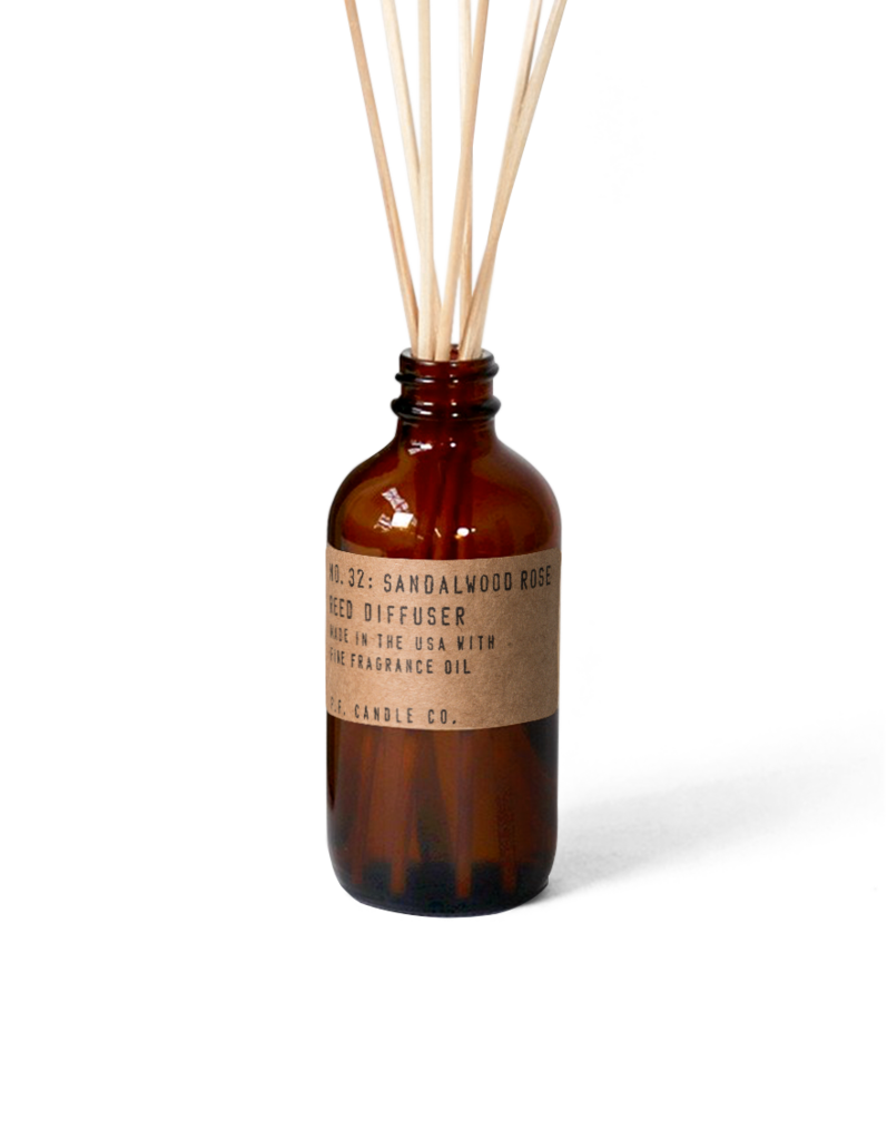 Sandalwood Rose Reed Diffuser by PF Candle Co PF Candle Co Decor