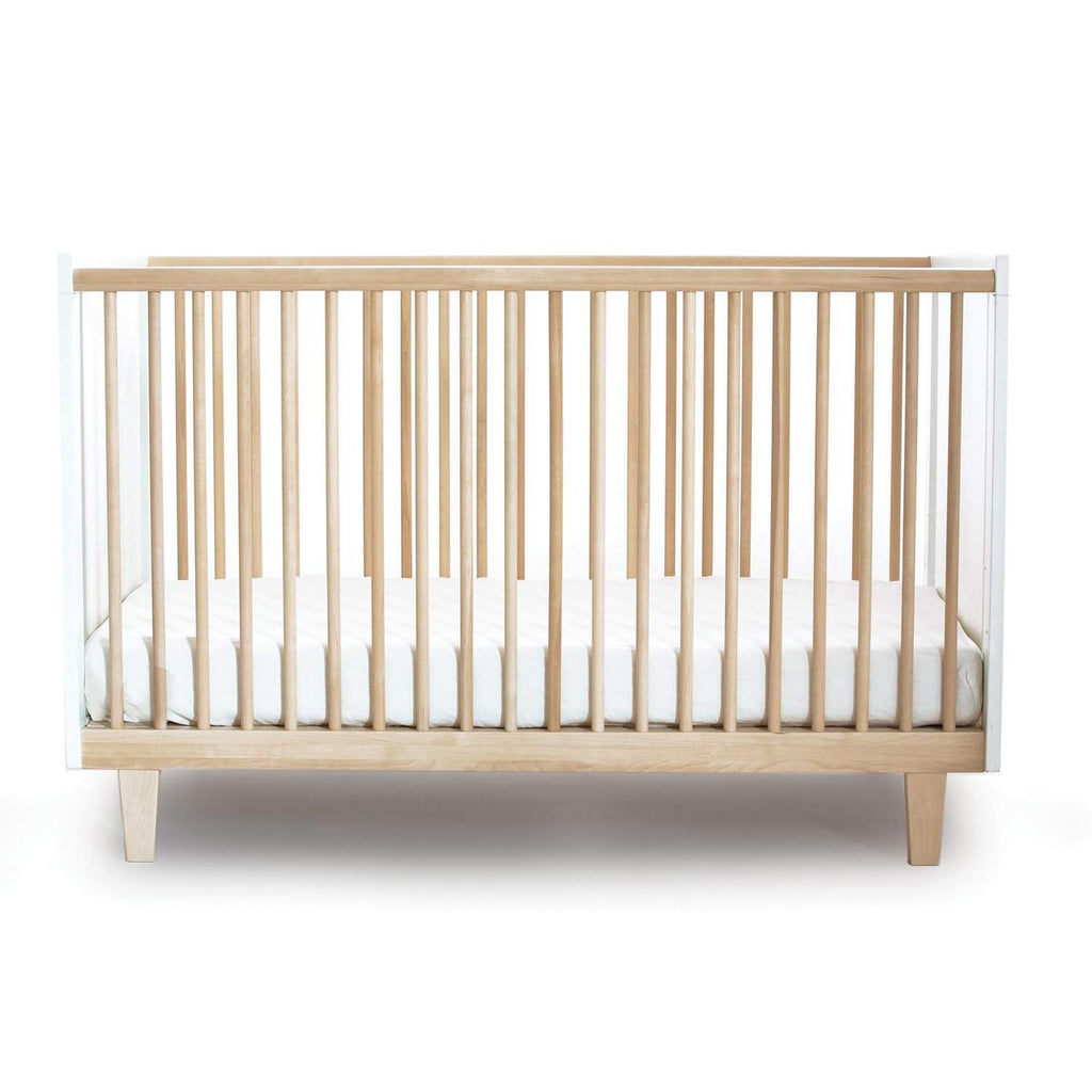 Rhea Crib - White / Birch by Oeuf