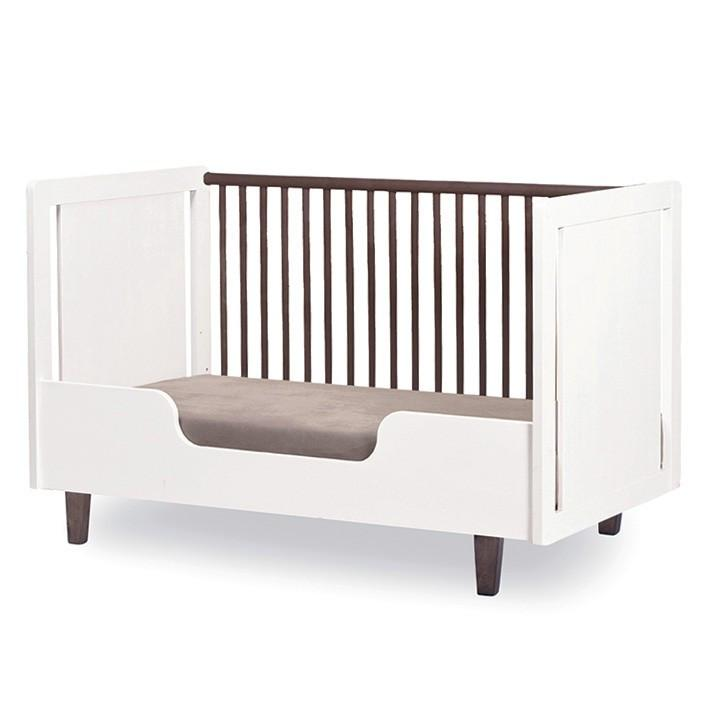 Rhea Crib Toddler Bed Conversion Kit - White by Oeuf - Pacifier