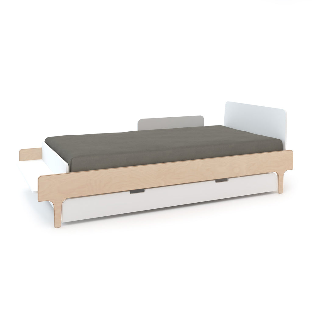 River Twin Bed - White / Birch by Oeuf