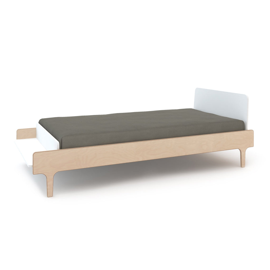 River Twin Bed - White / Birch by Oeuf Oeuf Furniture