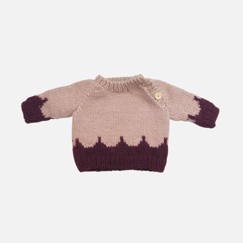 Scallop Sweater - Pink by The Blueberry Hill