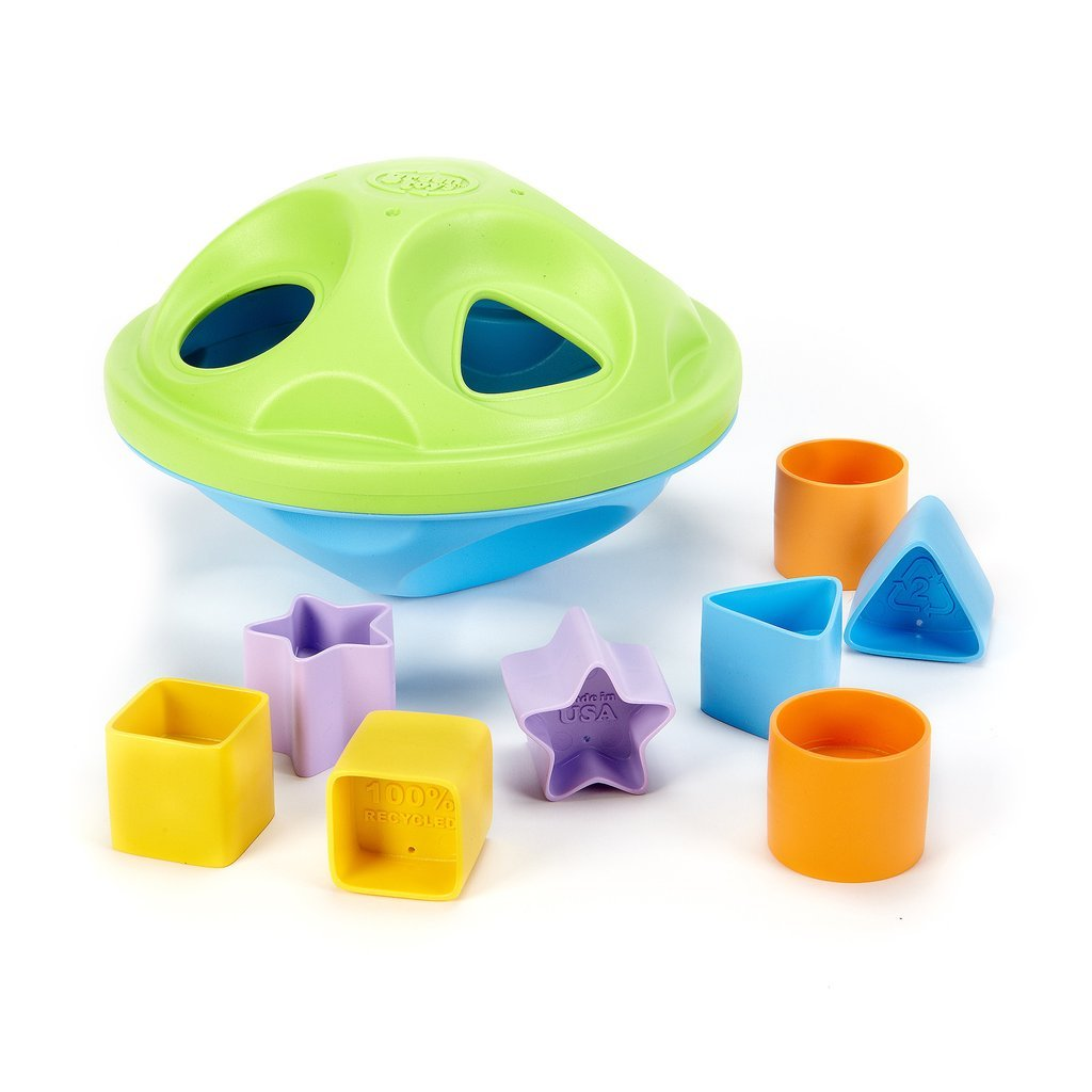 Recycled Shape Sorter by Green Toys Green Toys Toys