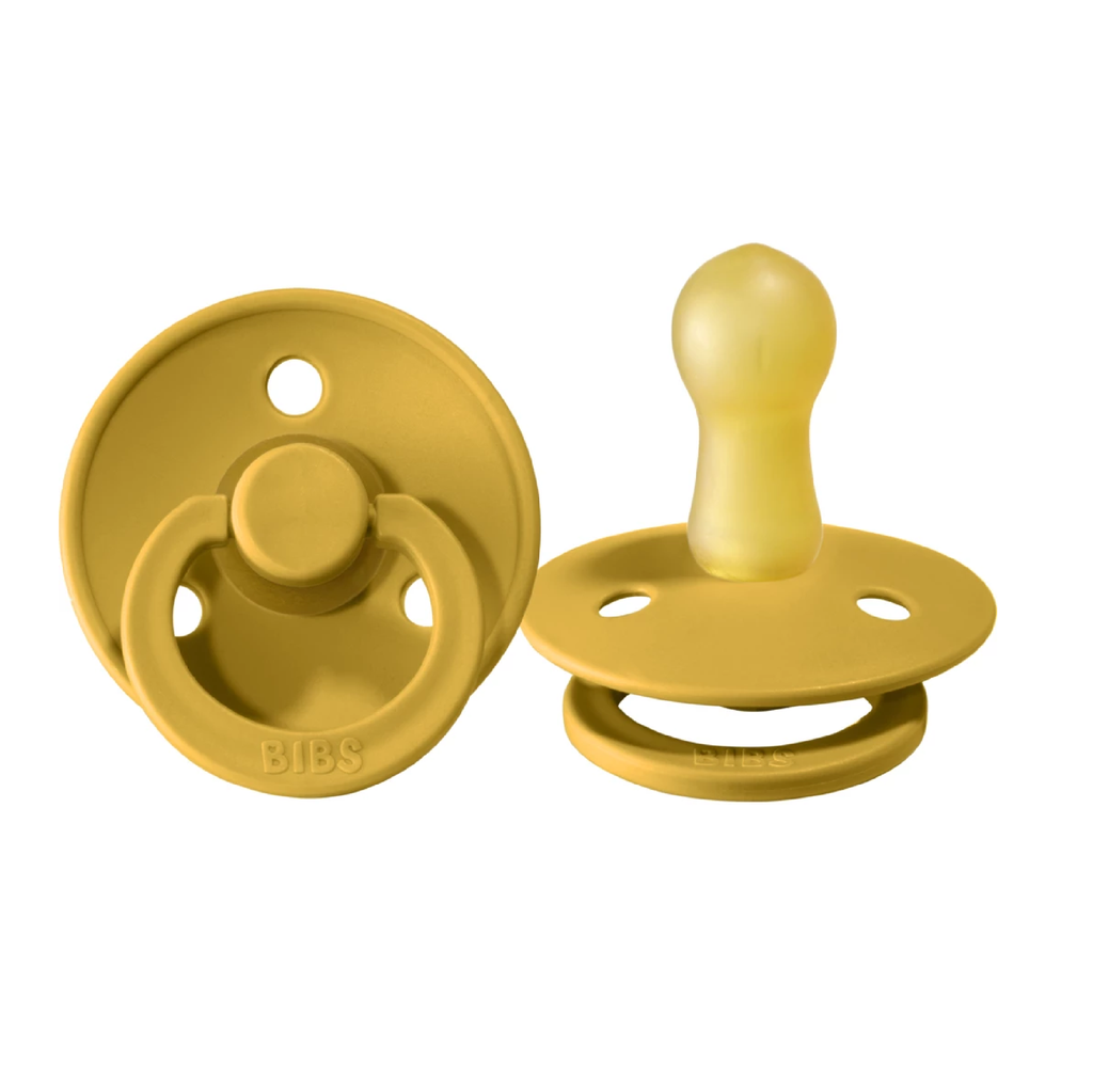 Bibs Single Pacifier - Mustard