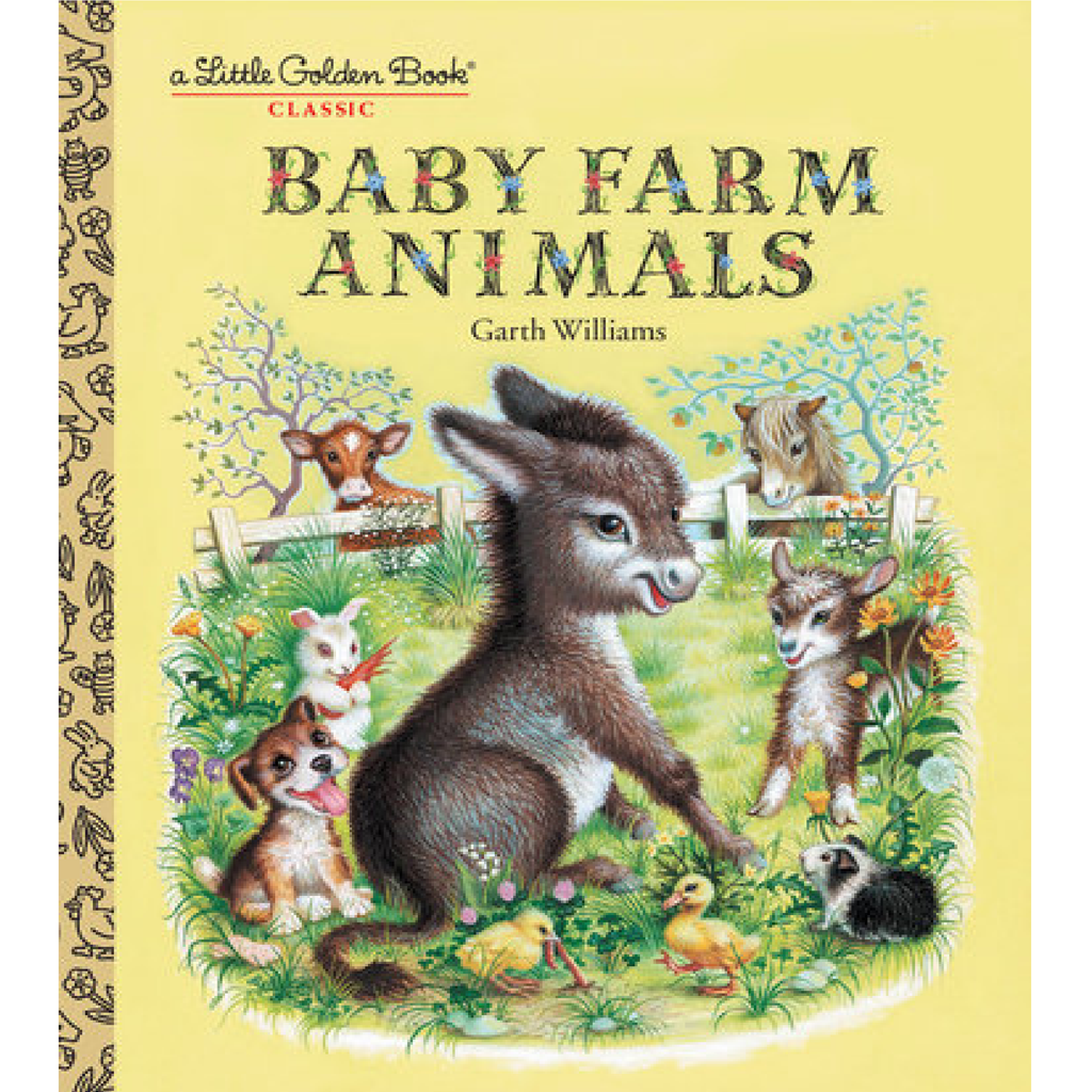 Baby Farm Animals - Little Golden Book Random House Books