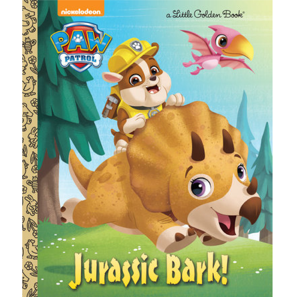 Jurassic Bark! - Little Golden Book