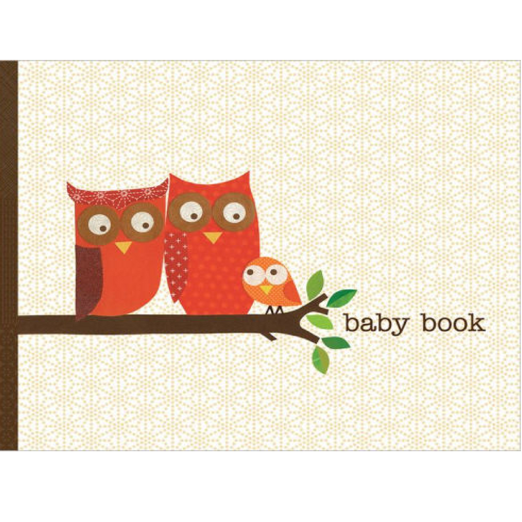 Petit Collage Baby Book - Owl Chronicle Books Books
