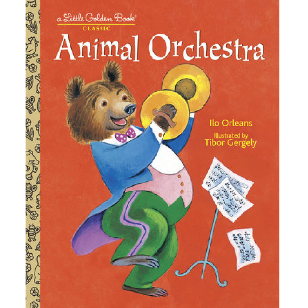 Animal Orchestra - Little Golden Book