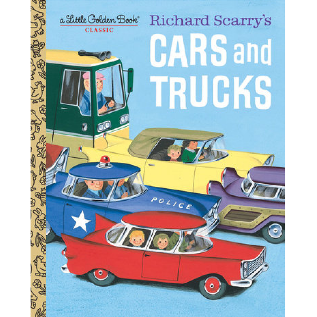 Richard Scarry's Cars and Trucks - Little Golden Book Random House Books