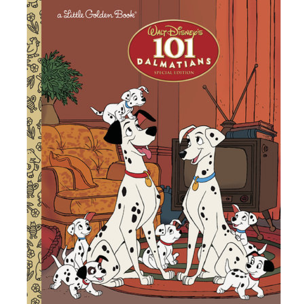 101 Dalmatians - Little Golden Book Random House Books