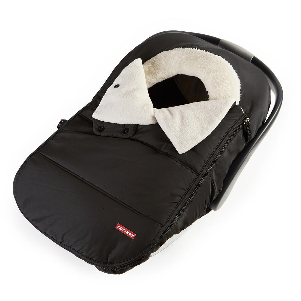 Stroll + Go Car Seat Cover - Black by Skip Hop