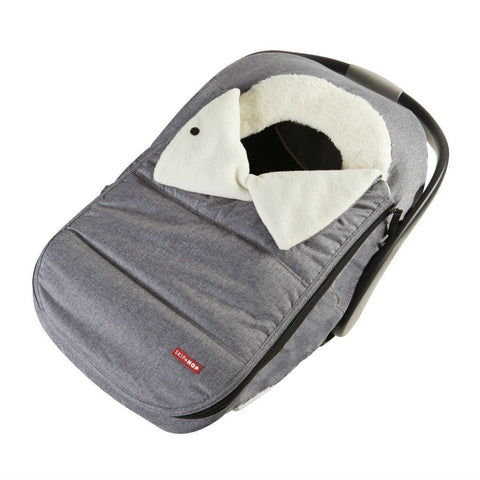Stroll + Go Car Seat Cover - Heather Grey by Skip Hop