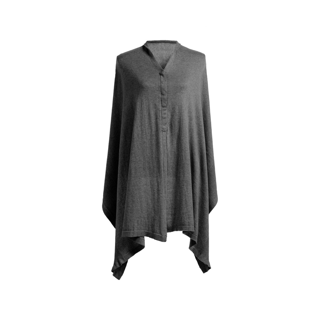 Mother's Cocoon Nursing Scarf/Shawl - Charcoal by Storksak