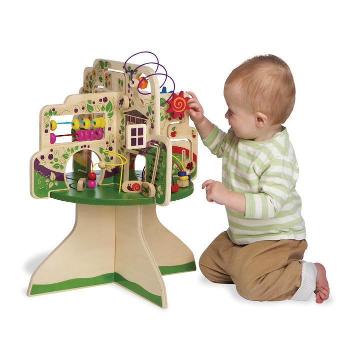 Tree Top Activity Table by Manhattan Toy - Pacifier