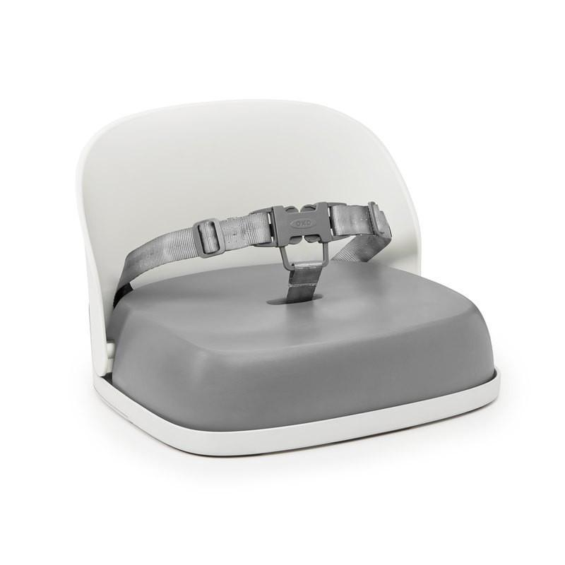 OXO Tot Perch Booster Seat with Straps - Gray - Pacifier