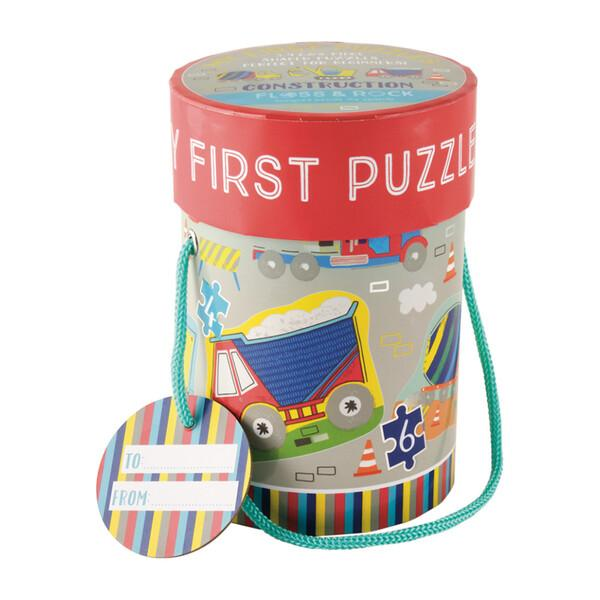 Construction First Puzzles - 8 Pieces by Floss & Rock