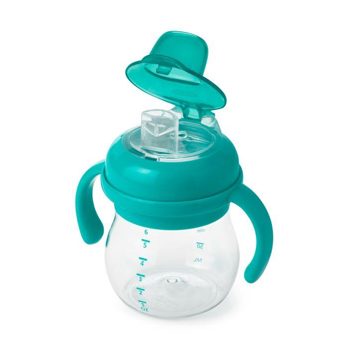 Transitions Soft Spout Training Cup Set - Teal by OXO Tot OXO Nursing + Feeding