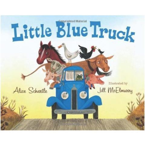 Little Blue Truck - Board Book - Pacifier
