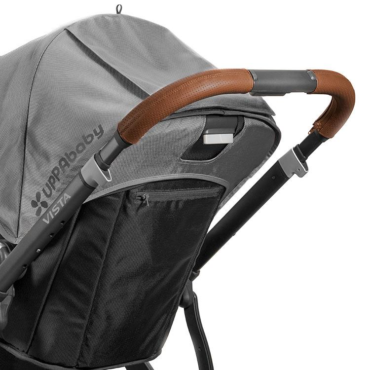 UPPAbaby Vista Leather Handlebar Covers UPPAbaby Gear